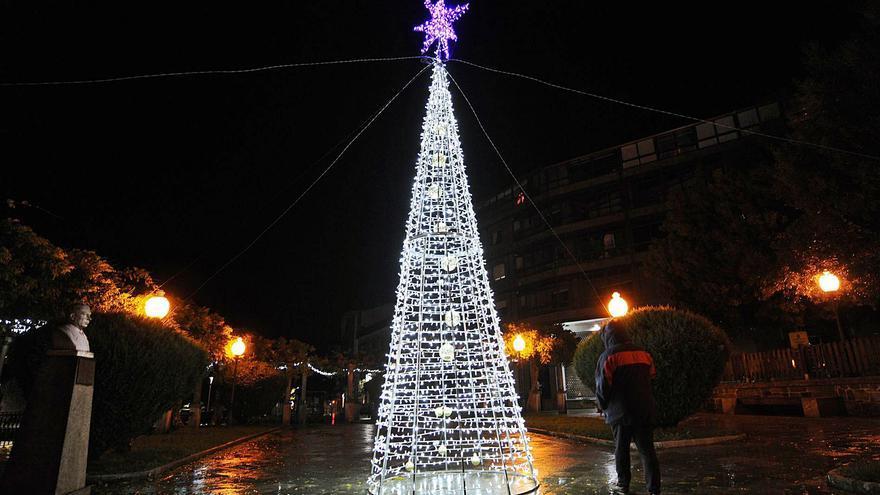 Lalín, Silleda y Cruces alumbran sus Navidades