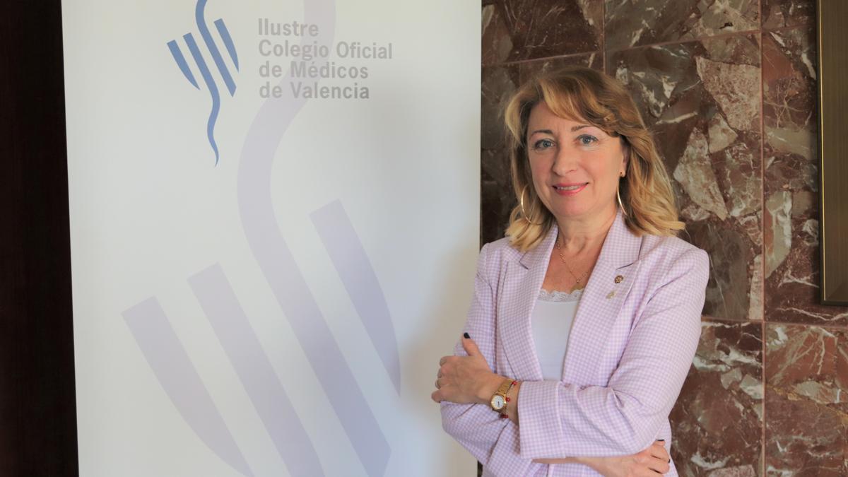 """La presidenta del Colegio de Médicos de Valencia aboga por el """"confinamiento total"""": """"Esto clama al cielo"""""""