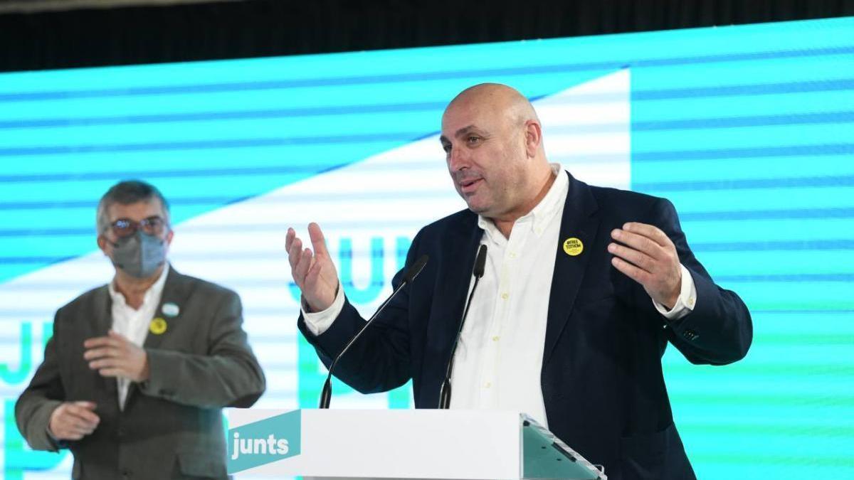 Ferran Roquer, candidat de Junts per Catalunya.