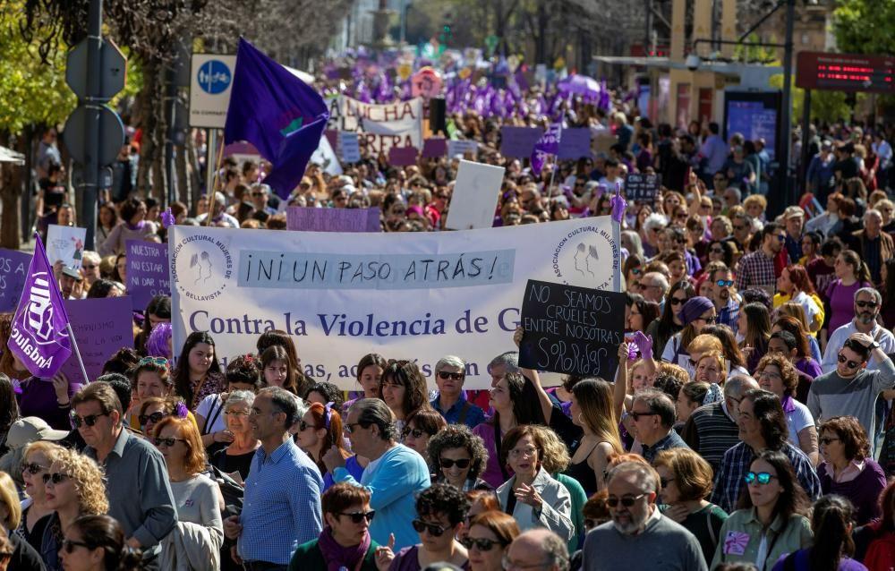 Miles de personas participan en Manifestación ...