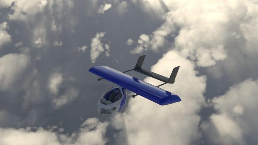 La startup catalana AAM crea un prototip de taxi aeri elèctric per estalviar temps en els trajectes