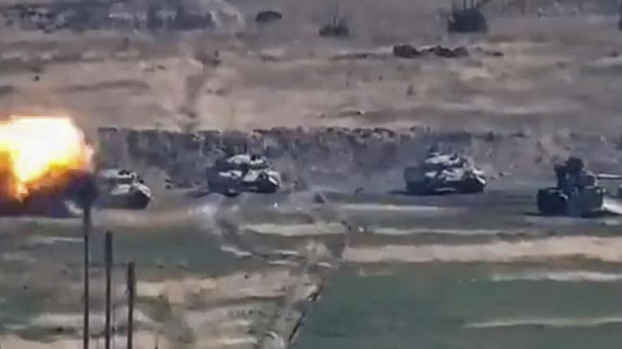 Mueren 31 militares de Nagorno Karabaj en el choque entre Azerbaiyán y Armenia