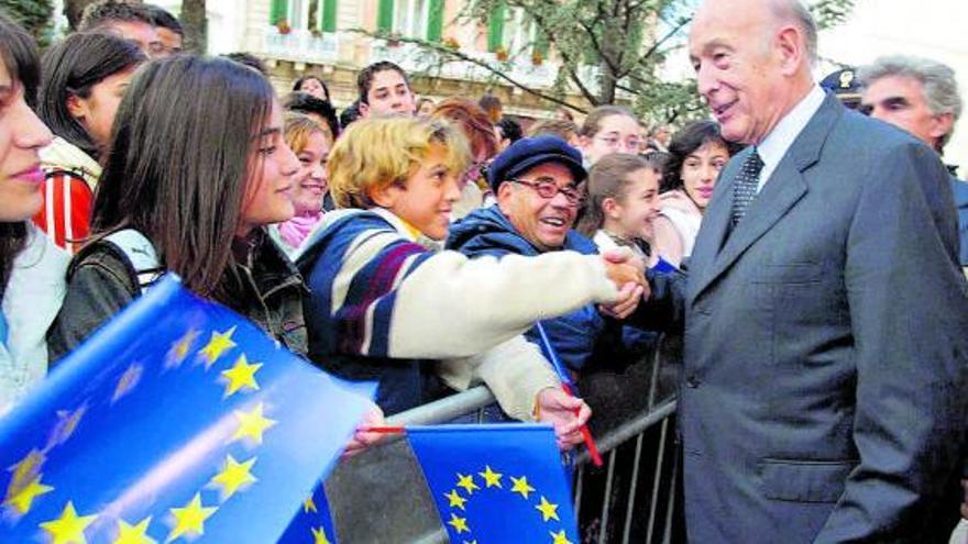 Europa despide a Giscard d'Estaing