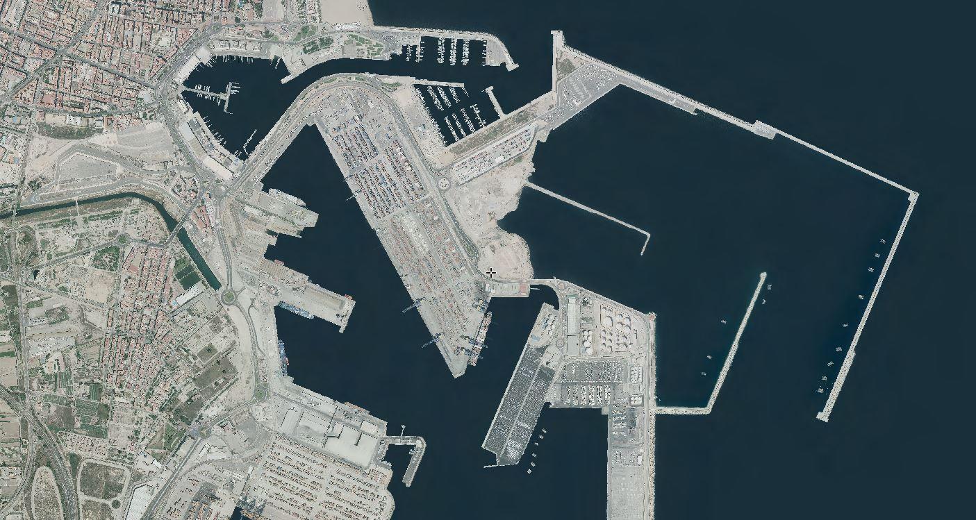 El puerto en 2018