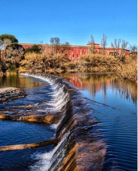 Riu Llobregat a Navarcles