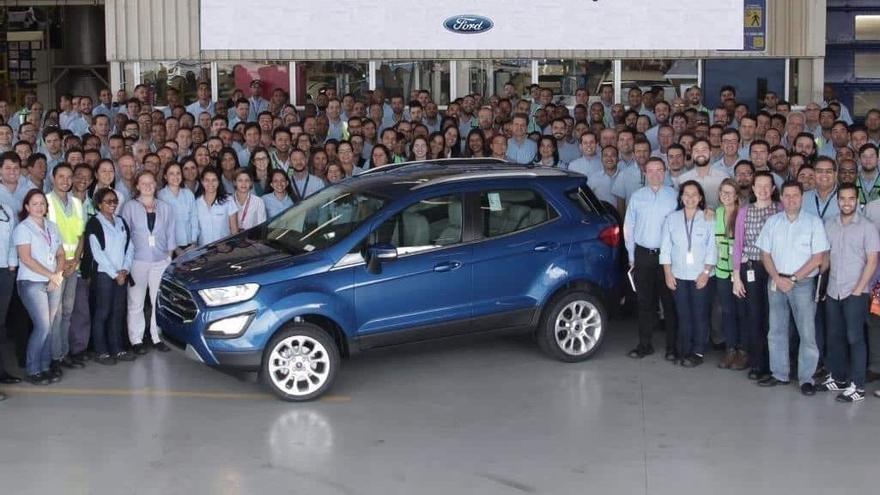 Ford cerrará todas sus plantas en Brasil en 2021