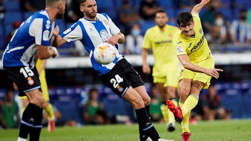 El Espanyol logra un trabajado empate ante el Villarreal