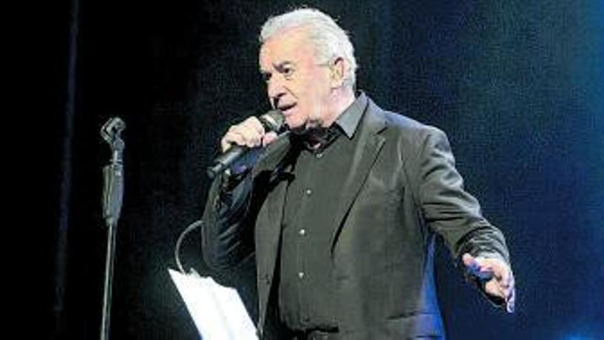 Víctor Manuel vuelve para cantarlo en Villena y Altea