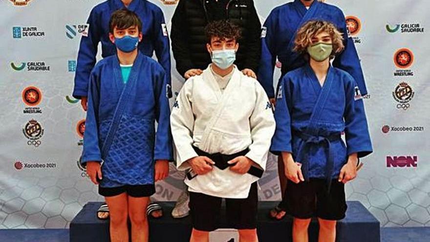 El Judo Club Base participa en el Gallego de Sambo