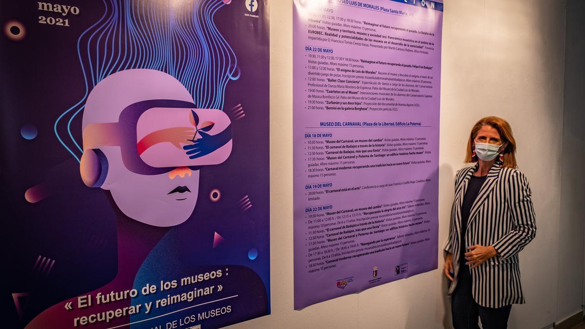 La concejala de Cultura, Paloma Morcillo, ayer durante la presentación.