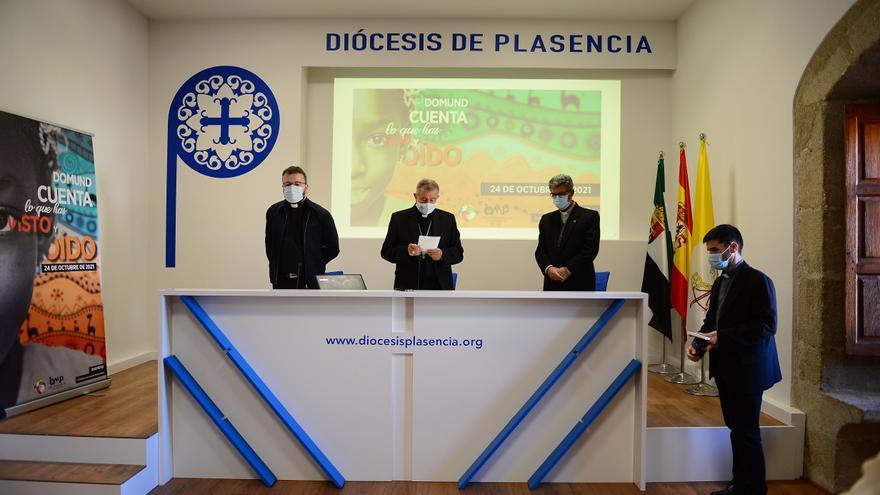 El obispo de Plasencia anima a realizar donativos para mantener las misiones