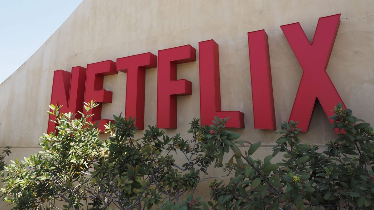 Logo de Netflix en una de sus sedes.