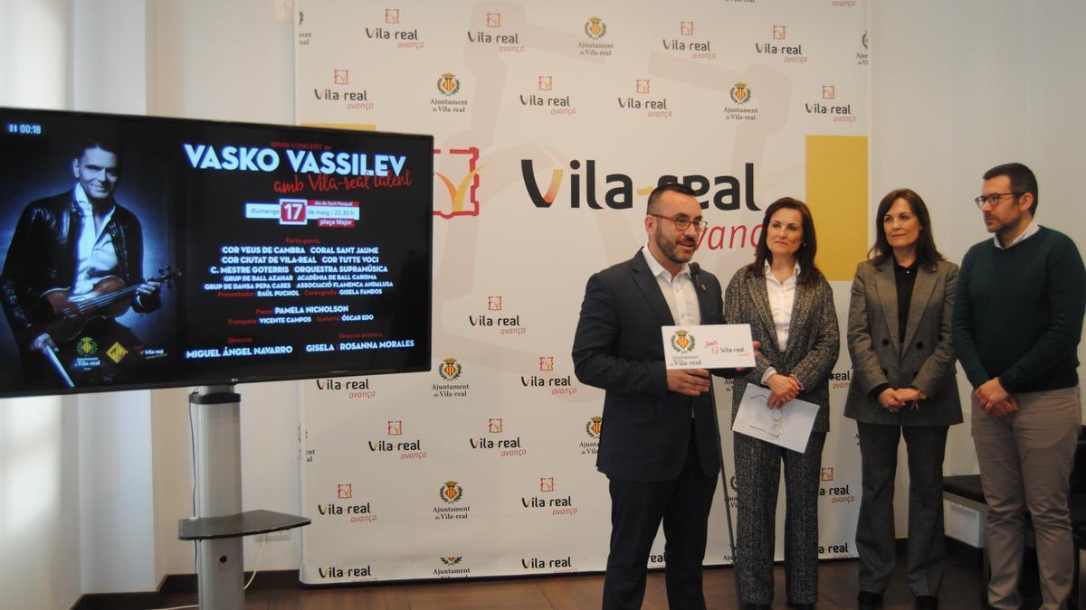Presentación, en marzo del año pasado, de la que debía haber sido la primera edición de Vila-real Talent.