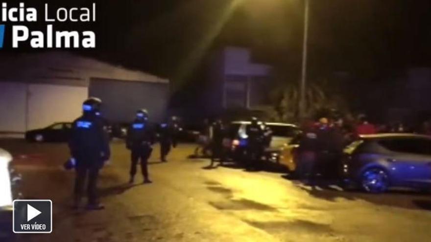 Polizei stoppt illegale Straßenrennen in Palma de Mallorca