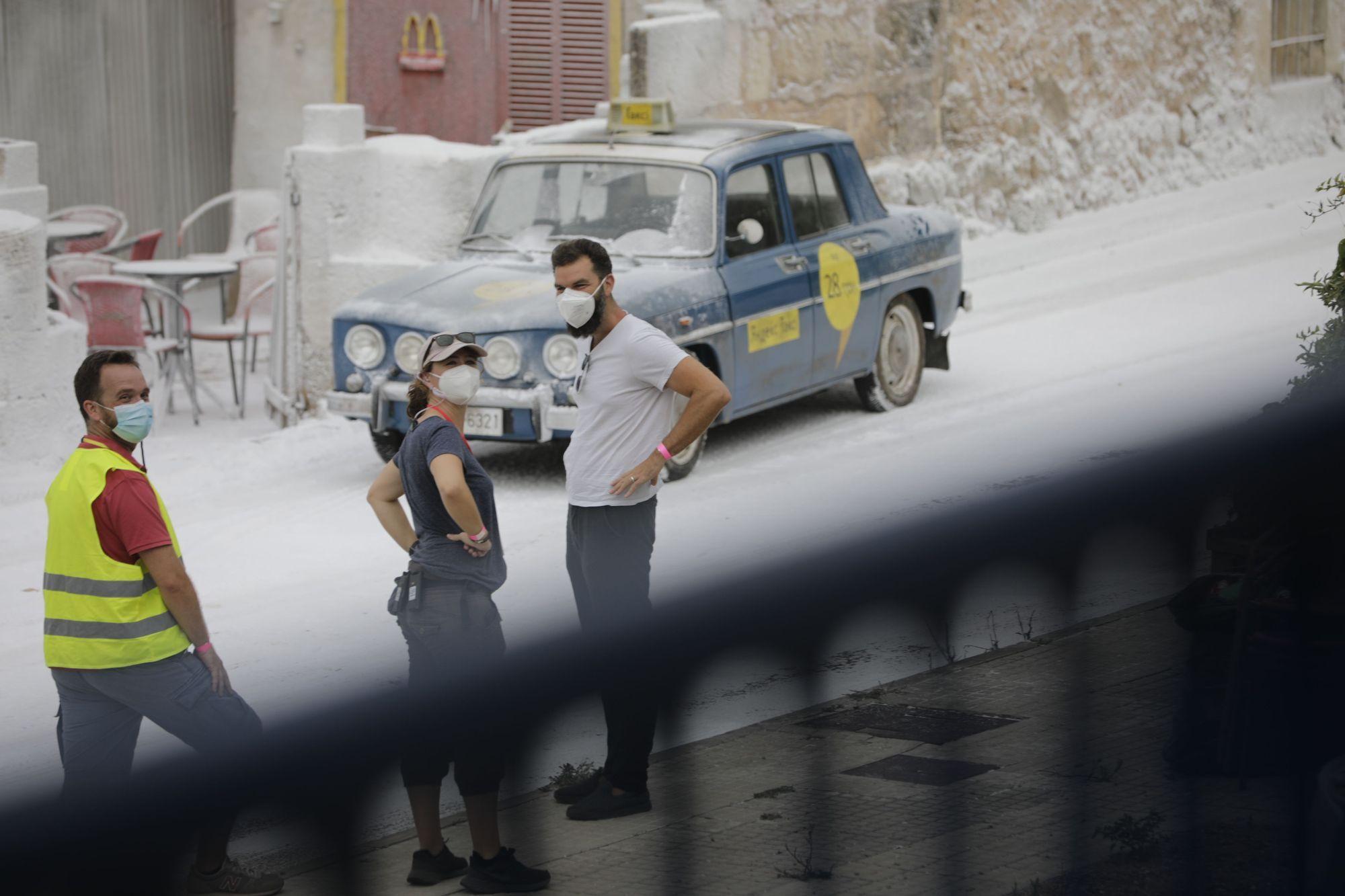 Adam Sandler dreht vor Schneekulisse in Pollença