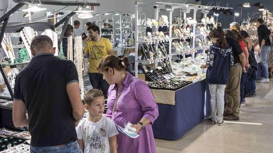 El salón de minerales Minervigo se clausura con 4.500 visitantes