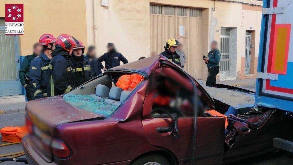 Accidente en Moncofa