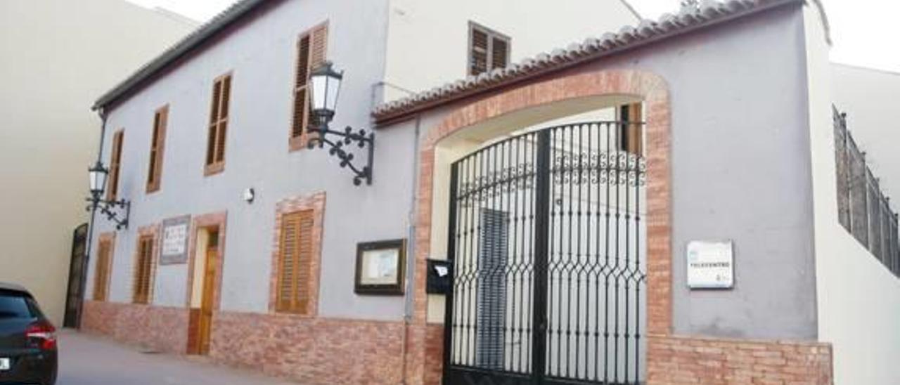 Edificio que alberga el Museo Etnológico de Canet.