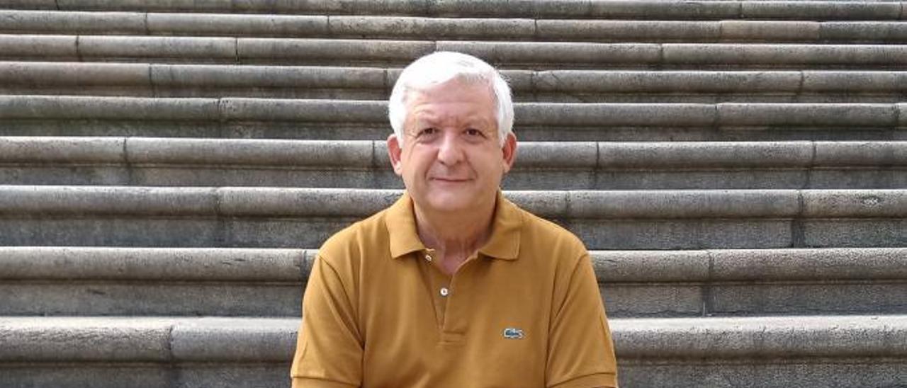 Vicent Giménez, secretari de l'Assemblea d'Història. | LEVANTE-EMV
