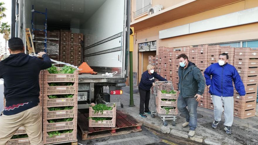 Agricultura compra 308 toneladas de productos locales para entidades sociales