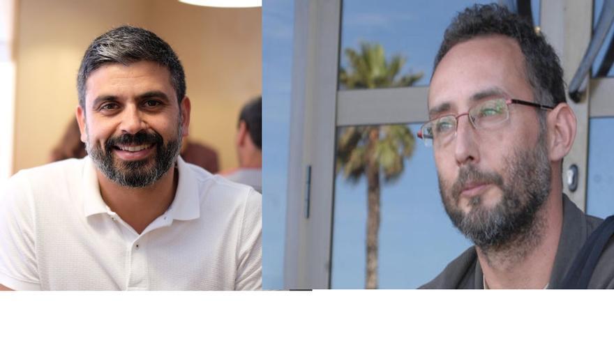 Telde felicita a los periodistas José Naranjo y Nicolás Castellano