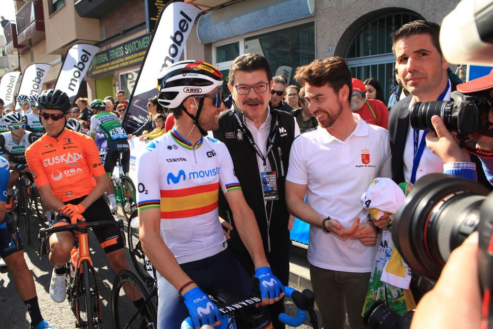 La Vuelta a Murcia sale desde Santomera