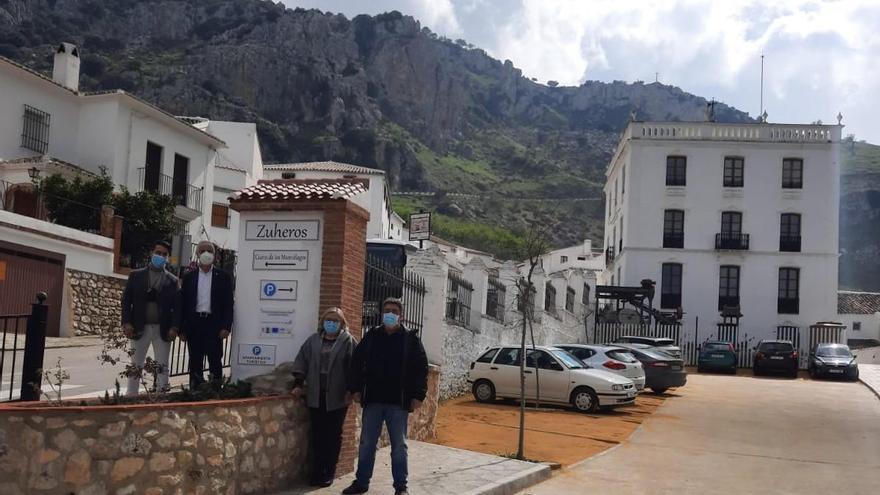 Zuheros cuenta con un nuevo aparcamiento turístico