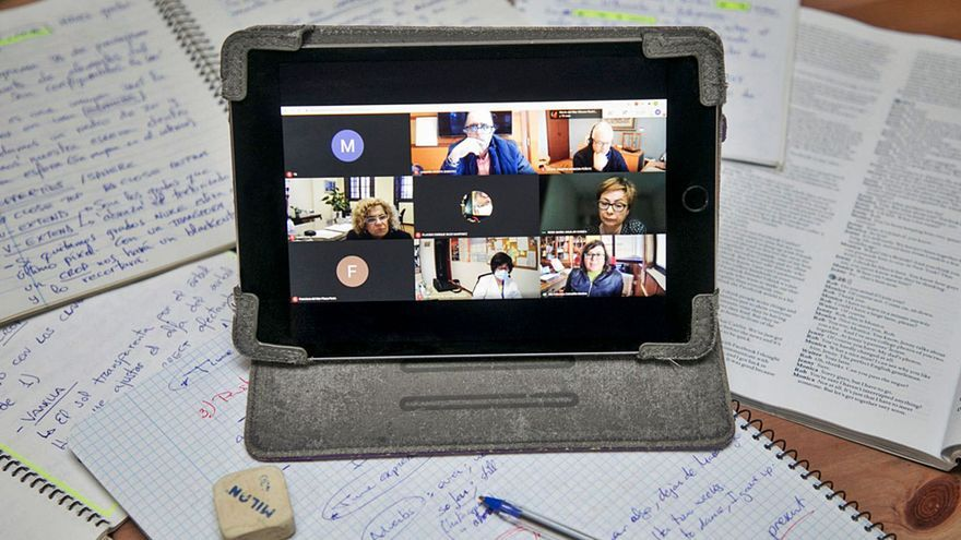 La ULL continúa con la docencia virtual  y los exámenes  serán 'on line'