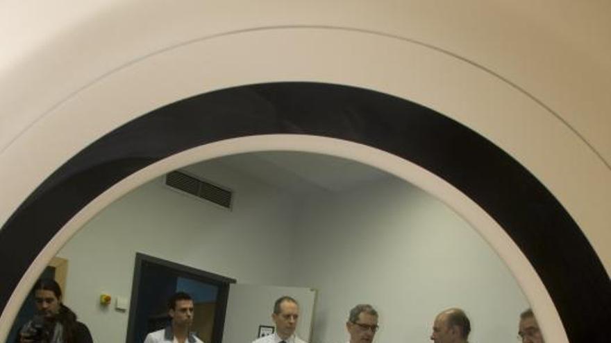 El hospital reduce listas de espera al realizar pruebas  TAC los domingos