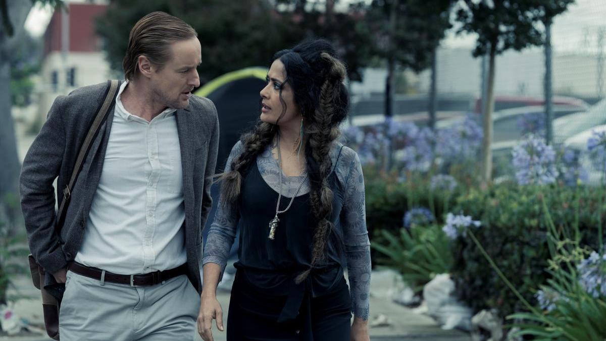 Salma Hayek y Owen Wilson en 'Bliss'
