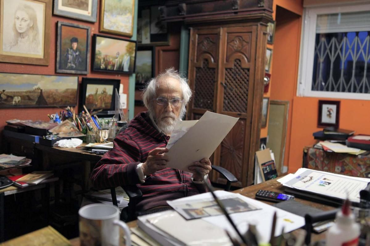 Ginés Liébana, cien años de juventud