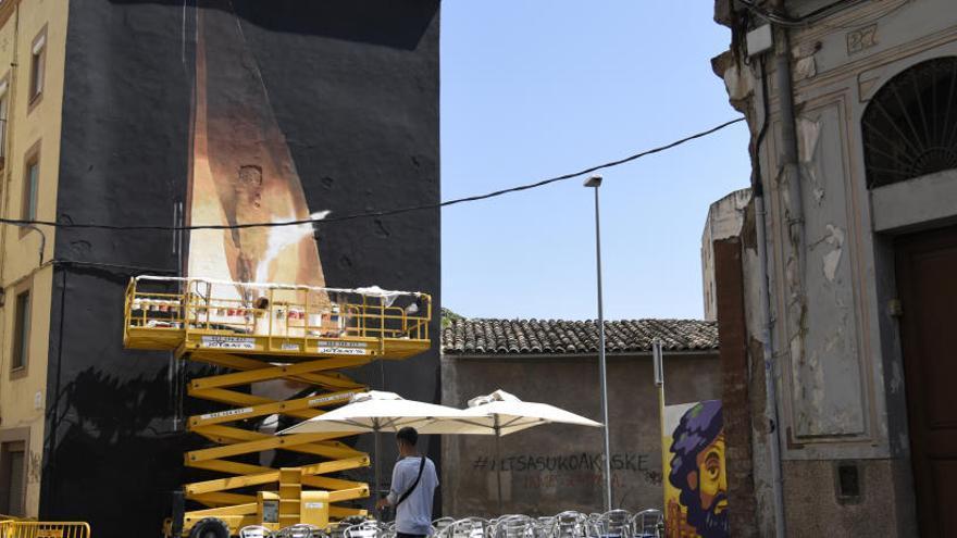 A Manresa, els murs són per als artistes