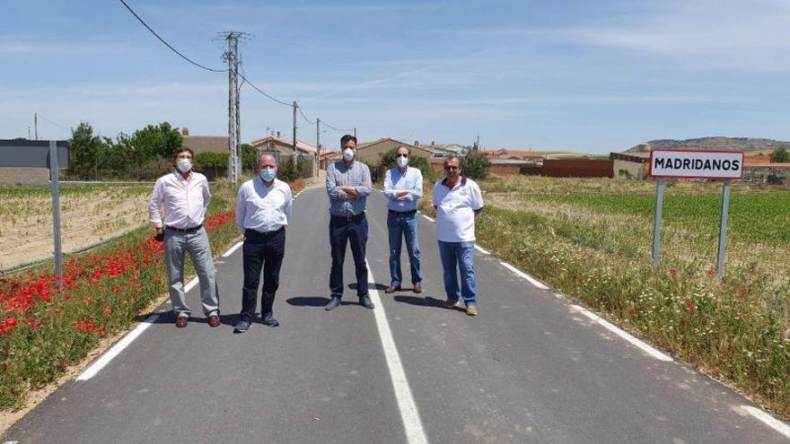 Culminada la mejora de caminos de Madridanos a Bamba y de Murias a Cerdillo