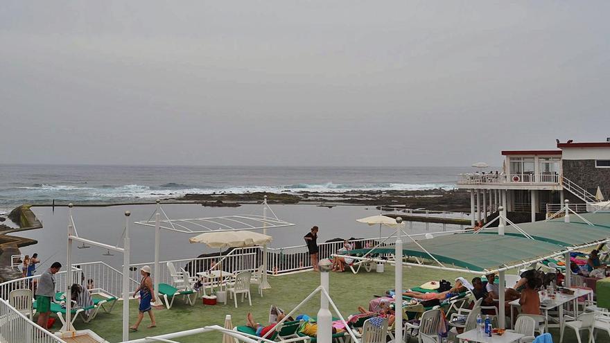 Imagen de archivo del club privado del Charco de la Arena, en el litoral de la Punta del Hidalgo.