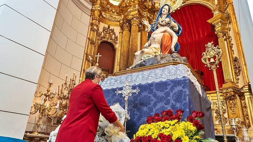 El año de la Patrona servirá para culminar las obras en la Basílica de la Caridad