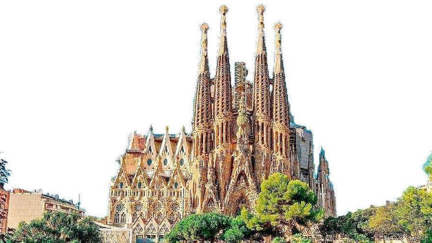 La Sagrada Familia, la iglesia más visitada