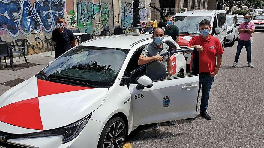 El taxi se reinventa en tiempos de Covid