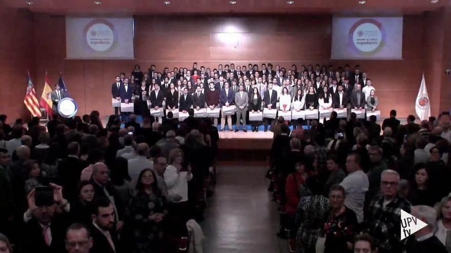 Estos son los mejores estudiantes de la Universidad Politécnica de València