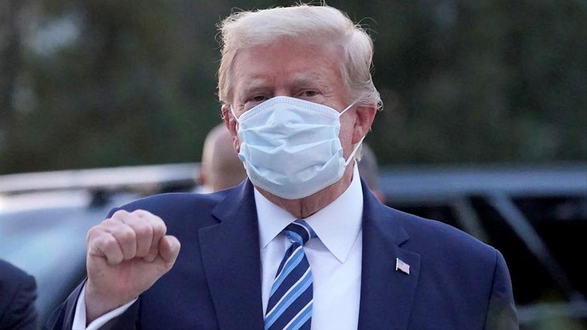 Trump y su esposa se vacunaron en secreto del coronavirus antes de dejar la Casa Blanca
