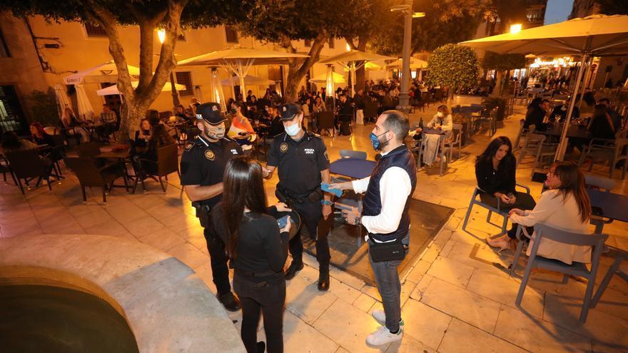 La Policía Local de Elche impone 531 sanciones tras las restricciones de la Generalitat