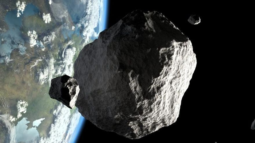 Un meteorito de entre 1,8 y 4 kilómetros se acercará a la Tierra en abril