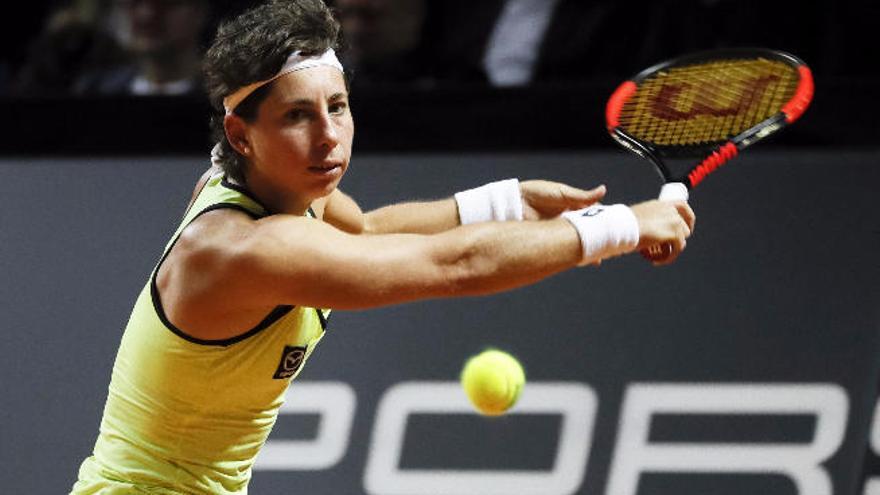 Carla Suárez pasa a cuartos en Estrasburgo