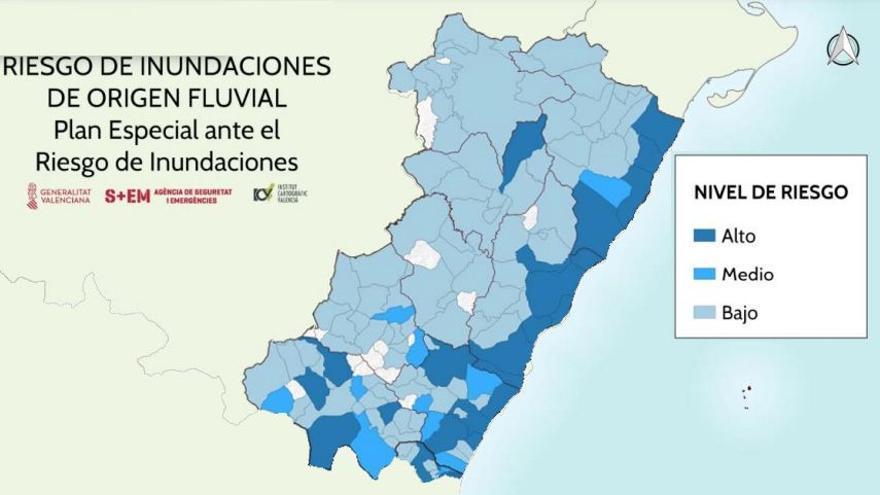 Más de 317.000 castellonenses residen en zonas con riesgo alto de inundación