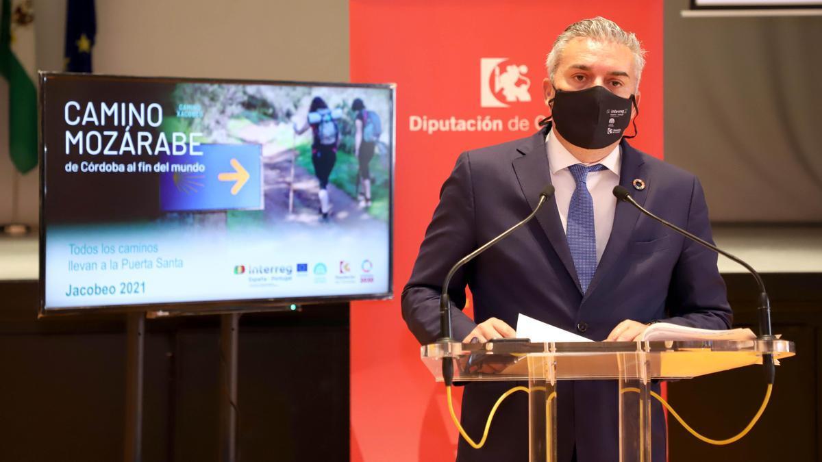 Víctor Montoro presenta el 'Fam Tryp' de la Ruta Mozárabe.