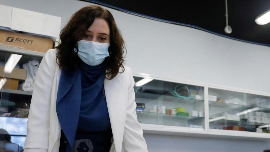 """Ayuso celebra las PCR a viajeros: """"Madrid y España serán más seguras"""""""