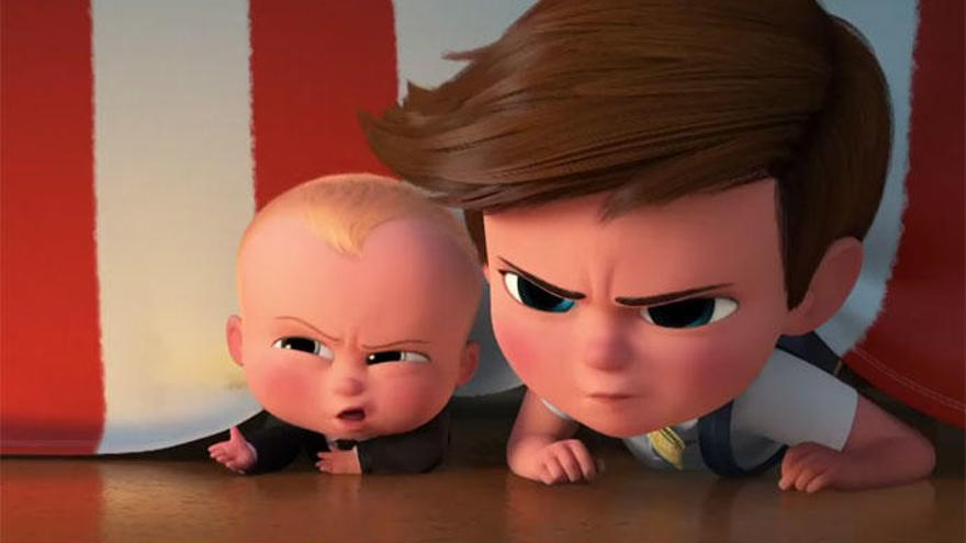 'El bebé jefazo': Imaginación, humor y mala uva