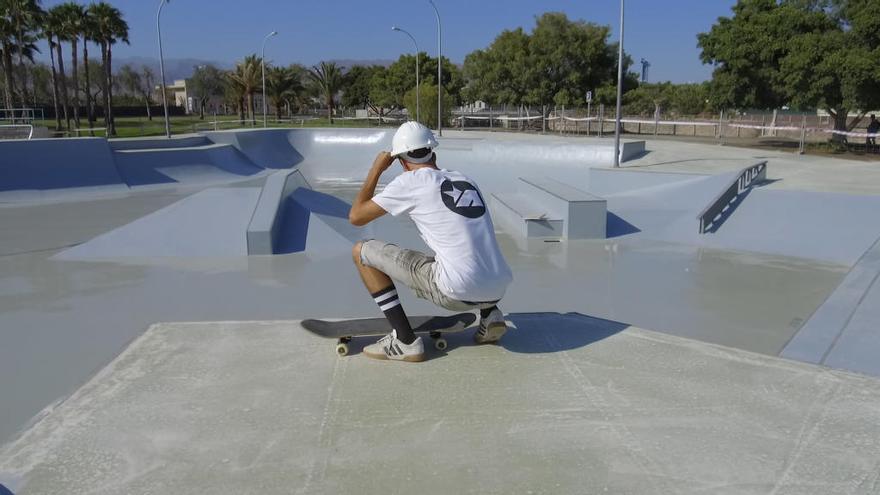El Skatepark de Maspalomas, casi listo