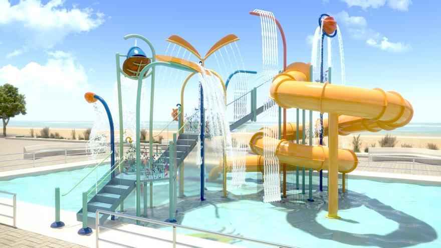 """Vigo tendrá un """"gran parque acuático"""" gratis"""