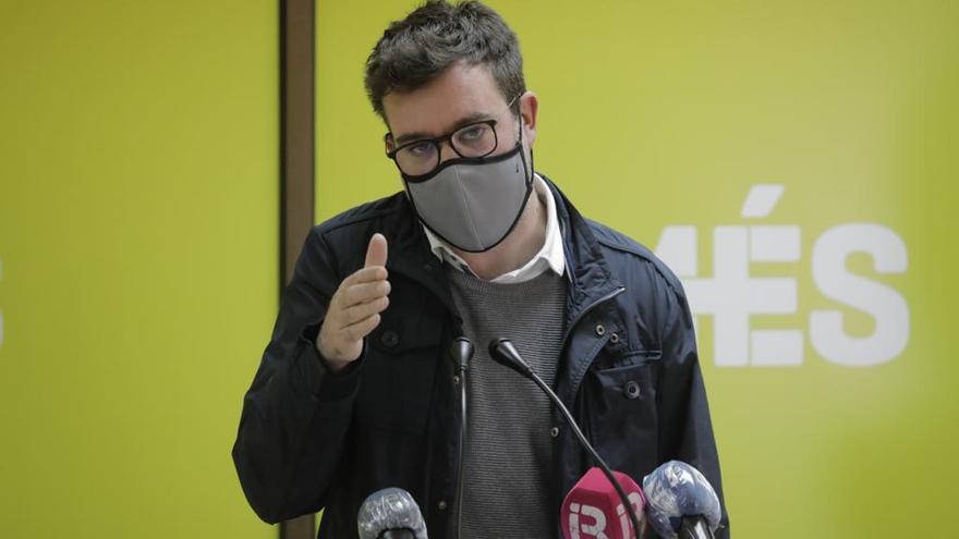 Antoni Noguera deja la dirección de Més y abre la pugna por el control del partido