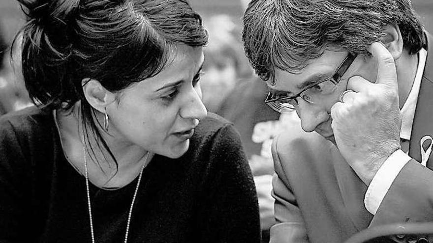 Puigdemont viaja el jueves a Helsinki tras reunirse con Anna Gabriel en Ginebra